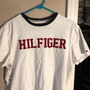 Tommy Hilfiger T- Shirt Frilled letters size M